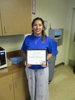 Deepa won Employee of the Quarter!