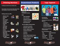 Services and products we offer.