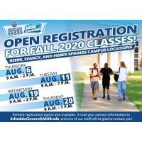 ASU-Beebe Open Registration Events