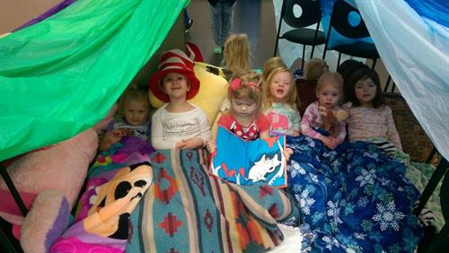 Act Two Studios is home to Kaleidoscope Creative Arts Preschool!