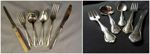 Stainless tableware