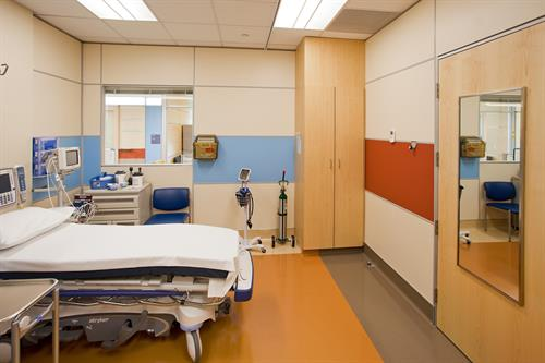 Hospital relocation and install