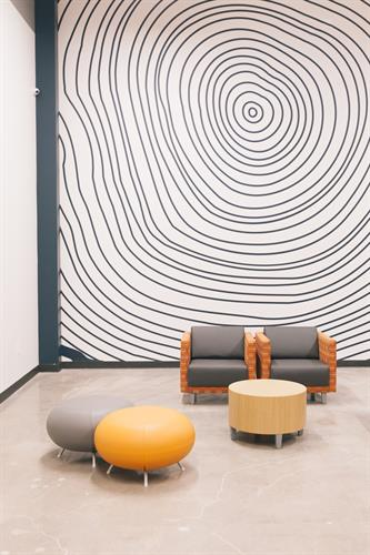 Designed waiting area
