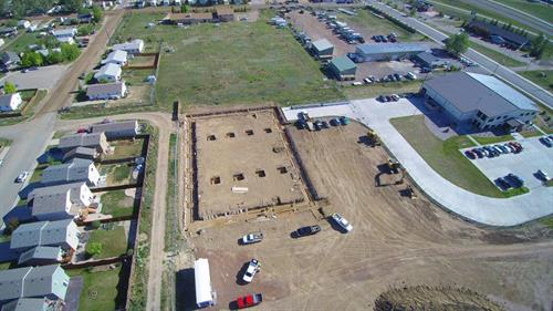 HIVIZ Shooting Systems Phase II - Laramie - Construction is Underway!