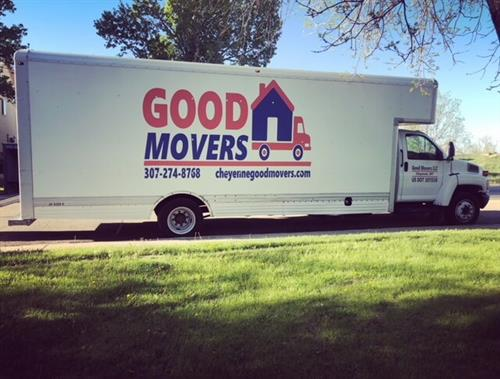 Good Movers truck