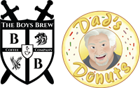 Dad's Donuts featuring The Boys Brew