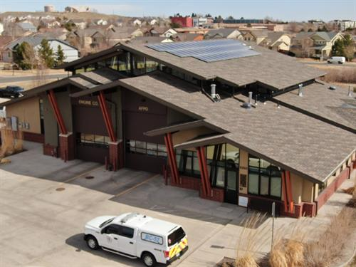 Arvada Fire Shingles