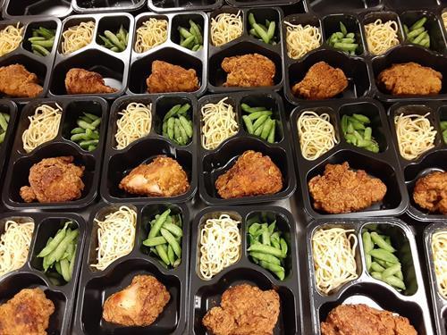 In-house prepared frozen meals