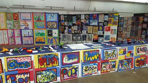 Laramie County Fair School Art Exhibit