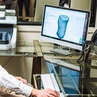 Custom orthotics and prosthetics with computer aided design