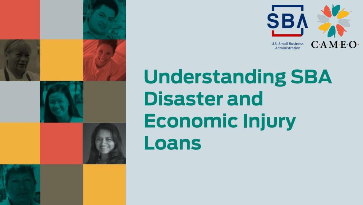 Image for Understanding the SBA Disaster Loan Program webinar