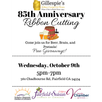 Gillespie's 85th Anniversary & Ribbon Cutting Event