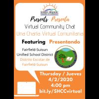 SHCC Virtual Community Chat with FSUSD