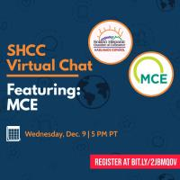 SHCC Virtual Chat: A Presentation from MCE