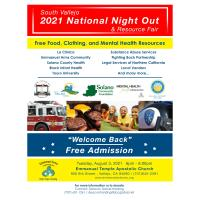 2021 Emmanuel Temple National Night Out