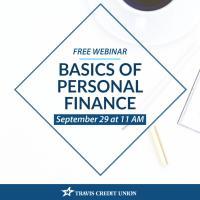 Free Webinar: Basics of personal finance