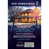 Joint Mixer with Dixon Chamber 9/22/21 / 5:30PM -7PM