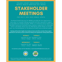 STAKEHOLDER MEETINGS For the FY 2021 - 2022 annual update