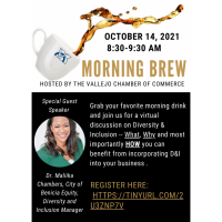 Morning Brew with the Vallejo Chamber of Commerce 9-14-21