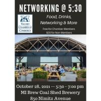 Vallejo Chamber Networking @ 5:30 -- October 2021