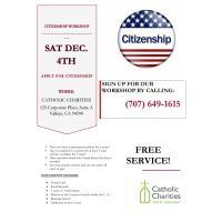 Catholic Charities CITIZENSHIP WORKSHOP