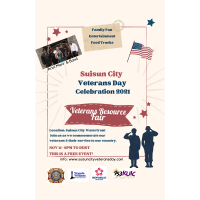 Suisun City Veterans day celebration 2021