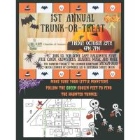 Dixon Chamber 1st annual trunk-or-treat event
