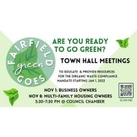 Town Hall city of Fairfield waste compliance