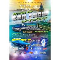 Festival And Car Show On The Waterfront