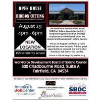 Solano WDB Fairfield Open House & Ribbon Cutting
