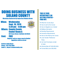 DOING BUSINESS WITH SOLANO COUNTY