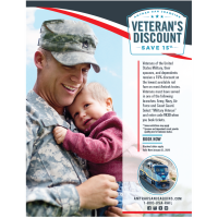 Veterans and Active Duty Military Personnel Save on Amtrak San Joaquins!