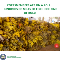 CORPSMEMBERS ARE ON A ROLL...