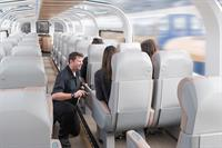 Commercial photoshoot for Rocky Mountaineer