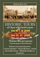 Historic Tour Event Planning & Poster Design (2018)