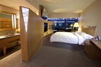Gallery Image 2_Guest_Room_with_Mountain_View_-_1_King_Bed_-_Evening.jpg