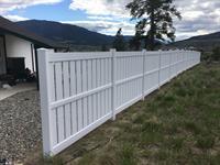 Huron Profile vinyl fence