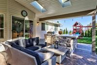 Outdoor living space - Winner of Keystone Award