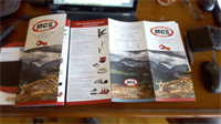 Brochure design for Mine Cable Services
