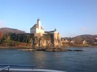 Castle in the Wachau Valley, Austria - Danube river cruise