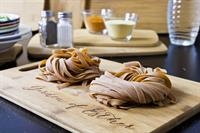 Garden Of Esther Curry Tagliatelle, Vegan, Naturally Flavored, Fresh Pasta