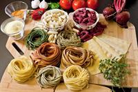 Garden Of Esther Fresh Pasta, naturally flavored & no artificial flavoring