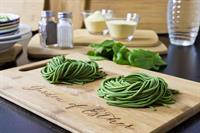 Garden Of Esther Spinach Linguine, Vegan, Naturally Flavored, Fresh Pasta