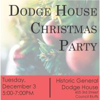 Dodge House Christmas Party