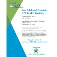 Free Adult and Pediatric CPR & AED Training