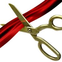 Ribbon Cutting - Dusted Charm