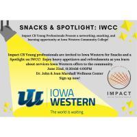 Impact CB Snacks & Spotlight: IWCC