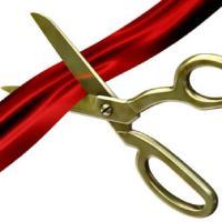 Ribbon Cutting - Purple Monarch Communications