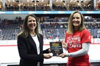 GameChangers Award at UNO Hockey Game