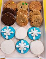 1 1/2 Dozen Assorted Christmas Box / Perfect for Corporate Giving